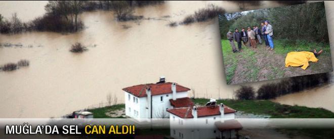 Bodrum ve Marmaris'te şiddetli yağış
