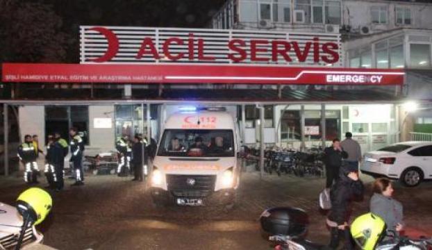 Çanakkalede trafik kazası: 8 yaralı