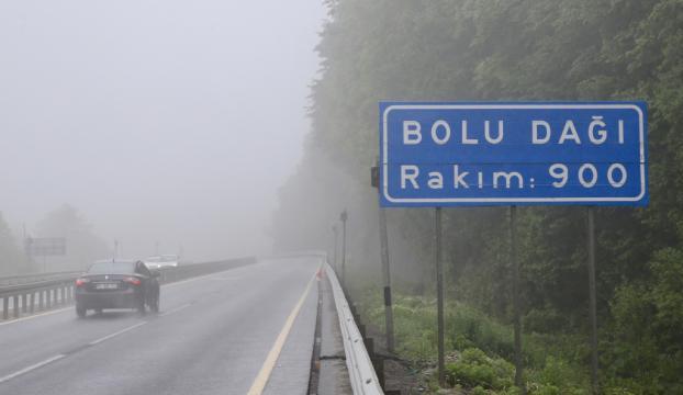 Bolu Dağında sis