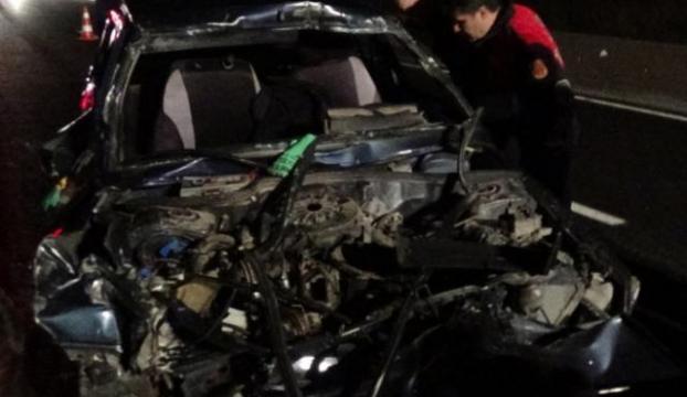 Bolu Dağında feci kaza: 1 ölü