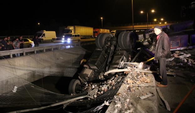 Boluda feci kaza : 1 ölü, 4 yaralı