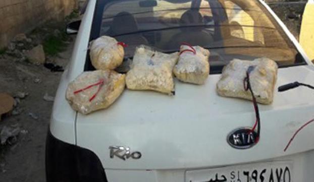 El Babda saldırı hazırlığında bomba yüklü araç ele geçirildi