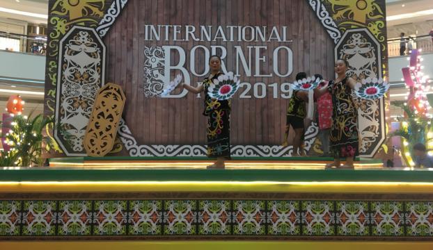 Uluslararası Borneo Festivalinde Malezyanın yerel kültürü tanıtıldı