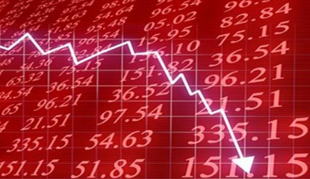 Borsa sert düşüşünü ikinci güne taşıdı