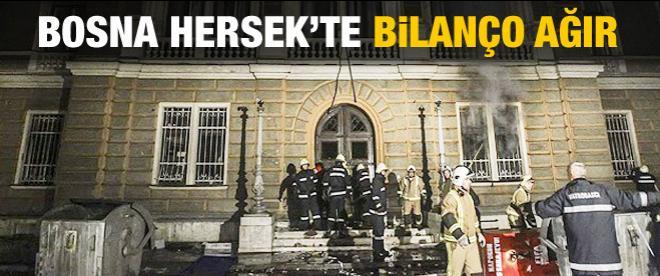 Bosna Hersek'te bilanço ağır