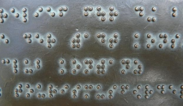 """Görme engelliler için """"Her Yerde Braille"""" kampanyası"""