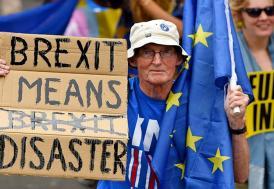 """May'den kritik oylama öncesi """"Brexit gerçekleşmez"""" uyarısı"""
