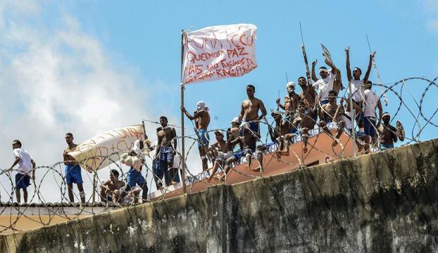 Brezilyada cezaevi isyanında büyük firar