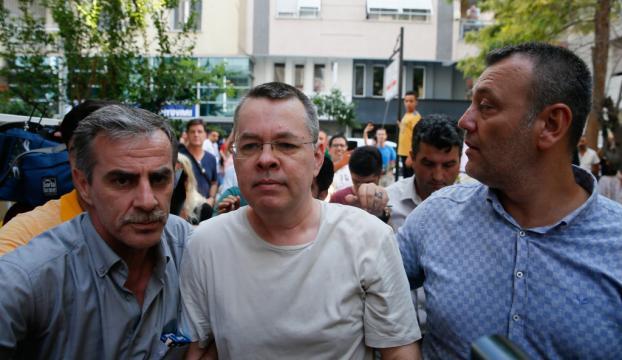 ABDli papaz Brunsonın yeniden tutuklanmasını talep edildi