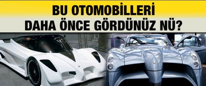 Bu otomobilleri daha önce gördünüz mü?