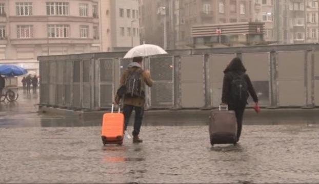 Bu sabah yağmur var İstanbulda