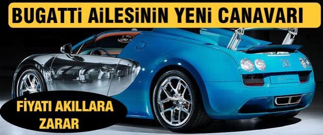 Bugatti Veyron ailesine yeni canavar!