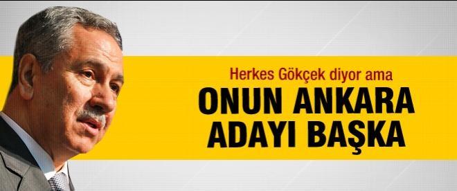 Arınç'ın Ankara adayı Veysel Tiryaki
