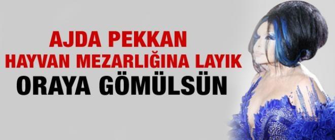 Bülent Ersoy: Ajda Pekkan'ı hayvan mezarlığına gömün
