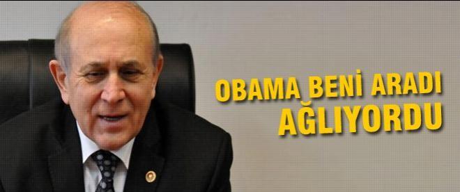 Burhan Kuzu: Obama beni aradı ağlıyordu