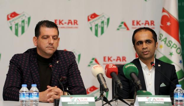 Bursaspora yeni sponsor