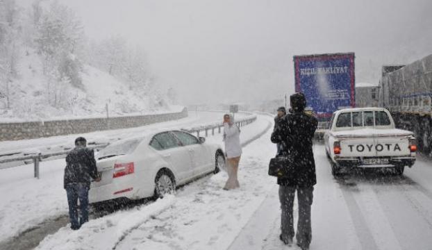 Bursa Ankara karayolu trafiğe kapandı
