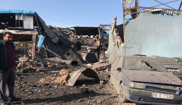Bursada boya fabrikasında patlama: 3 ölü, 8 yaralı
