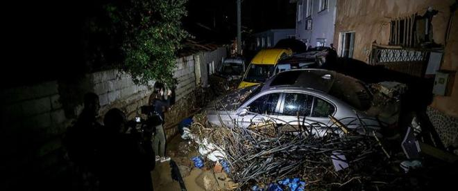 Bursada 2 kişi sel nedeniyle hayatını kaybetti