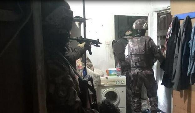 Bursada terör operasyonu: 10 gözaltı