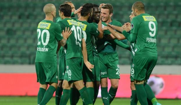 Bursaspor taraftarları maça yoğun ilgi gösterdi