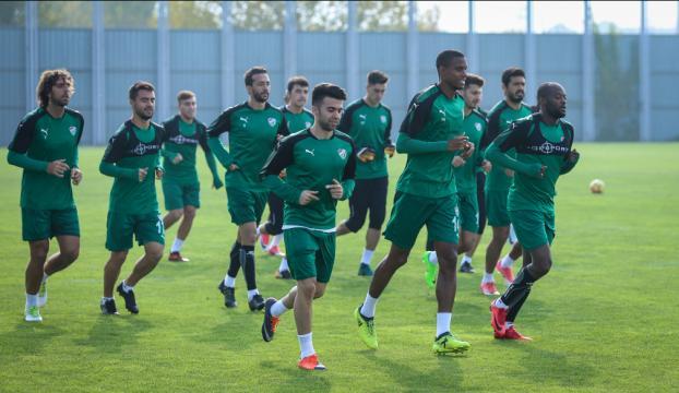 Bursasporda Göztepe maçı hazırlıkları