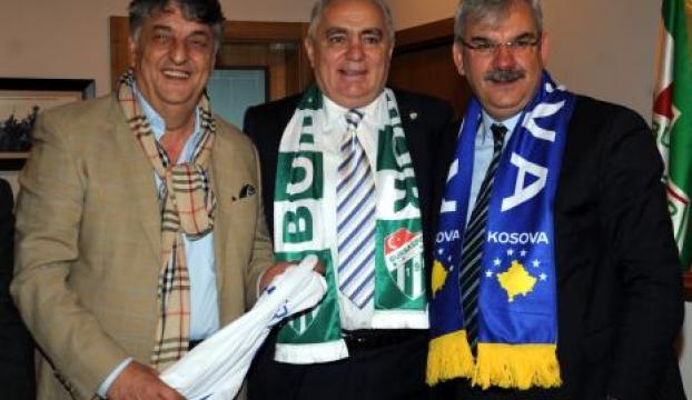 Bursaspor, Prishtina Kulübü ile kardeş oldu