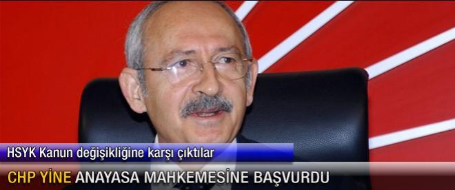 CHP yeniden Anayasa Mahkemesi'ne başvuruyor