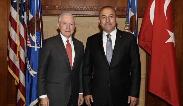 Çavuşoğlu ABDli bakan ile FETÖ elebaşının iadesini görüştü