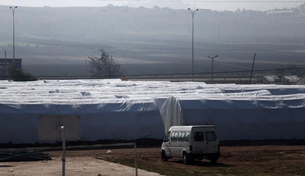 Reyhanlıda bin kişilik çadır kent hazır