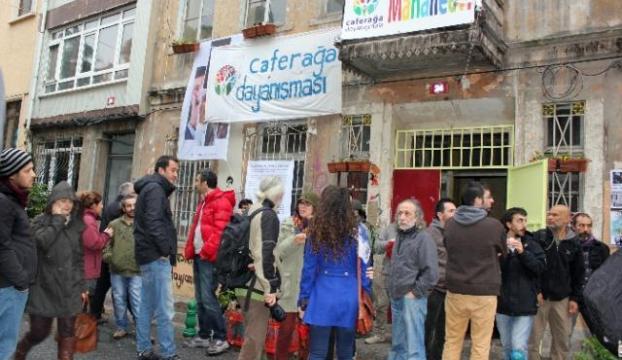 Caferağa protestosuna tepki