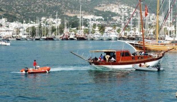 Çalıntı teknede 56 kaçak