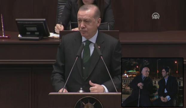 """Erdoğanın anlattığı """"cambaza bak"""" oyunu Kurtlar Vadisinde işlenmişti"""