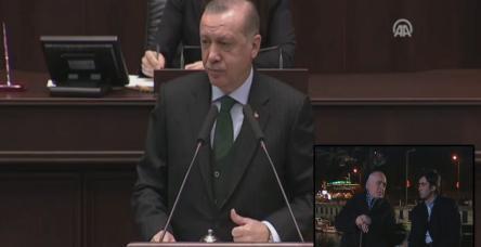 """Erdoğan'ın anlattığı """"cambaza bak"""" oyunu Kurtlar Vadisi'nde işlenmişti"""