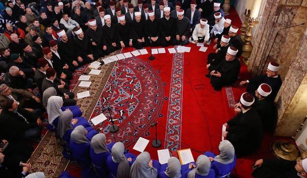 Saraybosnada şehitler için gıyabi cenaze namazı
