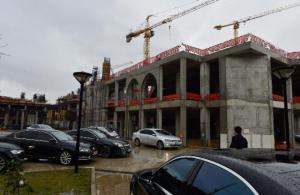 Çamlıca Camisi'nin inşaatı ilerliyor