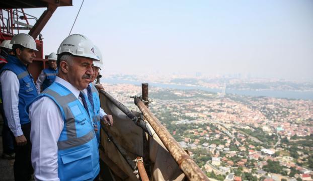 Çamlıca Kulesine yılda 4,5 milyon turist bekleniyor