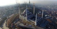Çamlıca Camii havadan görüntülendi