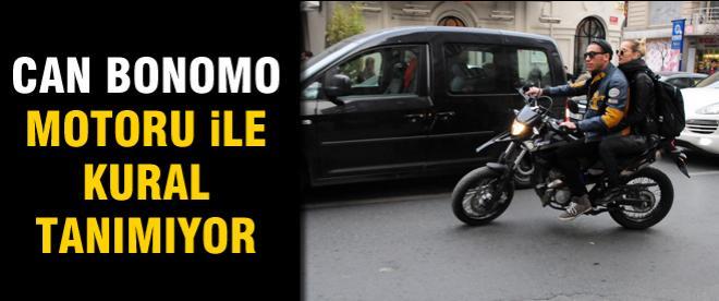 Can Bonomo motoruyla kural tanımıyor