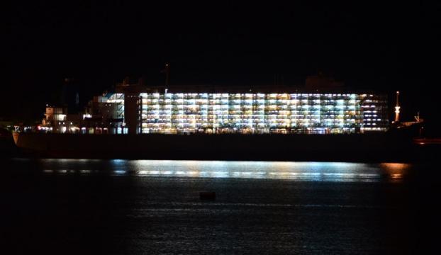 Çanakkale Boğazında gemi arızası