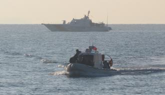 Çanakkale'de 57 yabancı uyruklu yakalandı