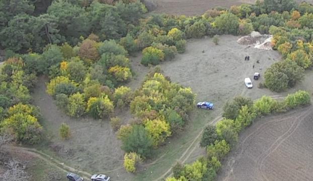 Kaçak kazı operasyonunda tarihi hamam bulundu