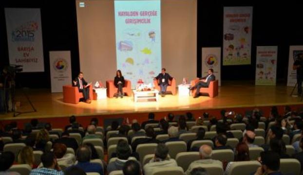 Çanakkalede hayalden gerçeğe girişimcilik paneli