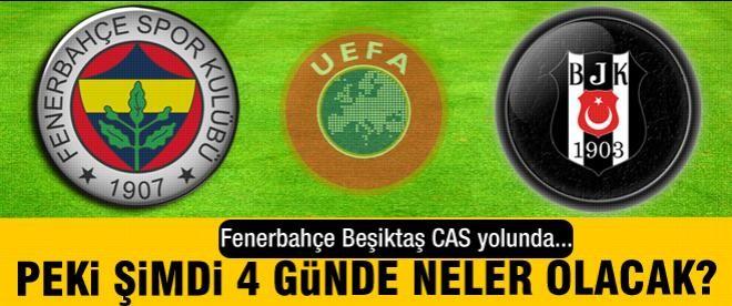 UEFA'dan olumsuz sonuç! Umutlar CAS'ta