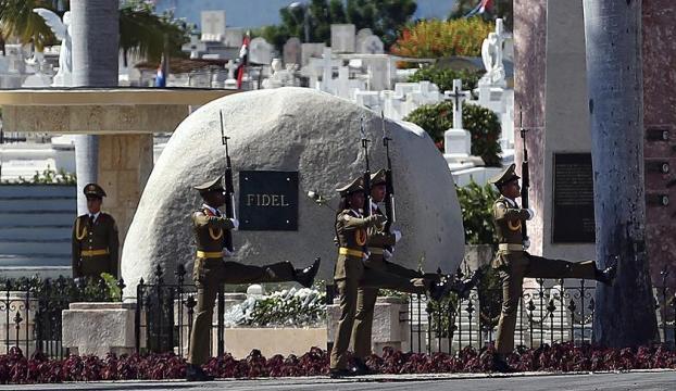Castronun külleri defnedildi