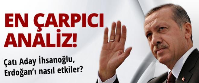 Çatı aday İhsanoğlu, Erdoğan'ı ilk turda seçtirir