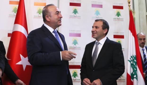 Dışişleri Bakanı Çavuşoğlu, Lübnanda