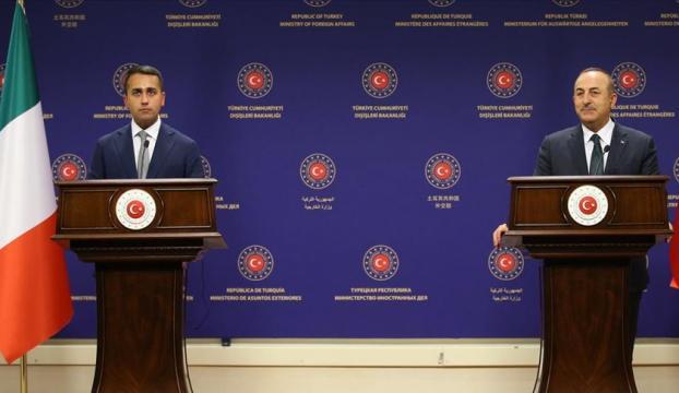 Çavuşoğlu: İtalya ile Libyada kalıcı barış için çalışmaya devam edeceğiz
