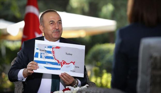 Bakan Çavuşoğlu: Türkiye Doğu Akdenizde geri adım atmadı