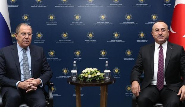 Çavuşoğlu- Lavrov ortak basın toplantısı